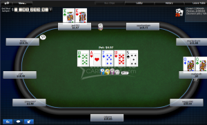 Cash Table on ACR