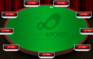 InfinitiPoker Holdem Table