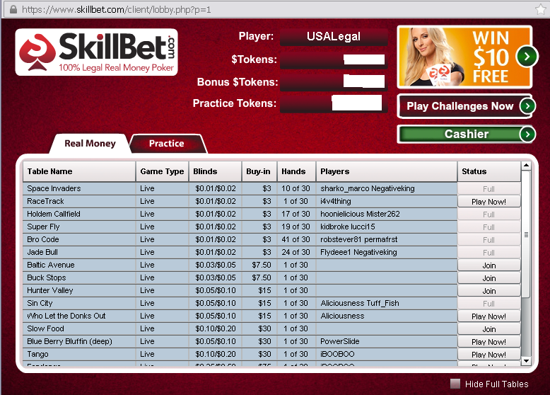 skillbet poker