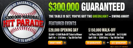 $300K Hit Parade on DraftKings