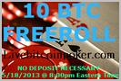 10 BTC Free Roll