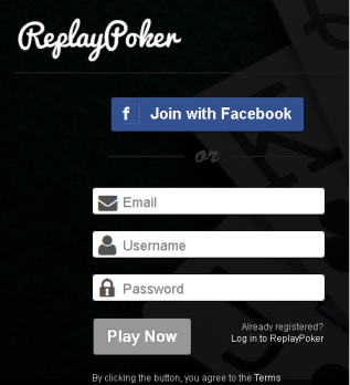 Replay Poker Signup