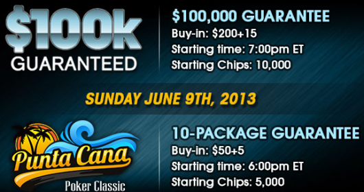 Sunday June 9th Events on ACR