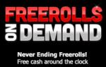 Freerolls on Demand on ACR