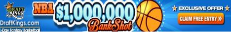 DarftKings $1Million Bank Shot