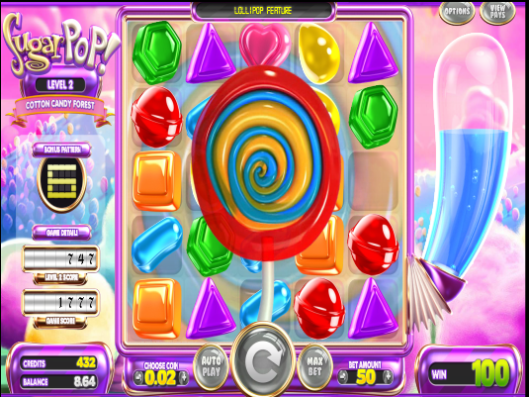 Lollipop Spin feature