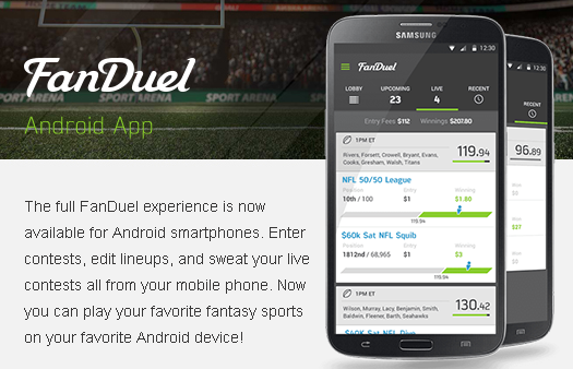 Fan Duel Android App