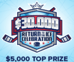 $30K Return to the Ice on Draftkings