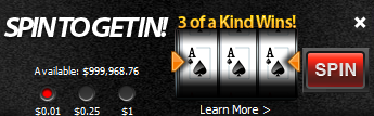 Spin to get in on ACR