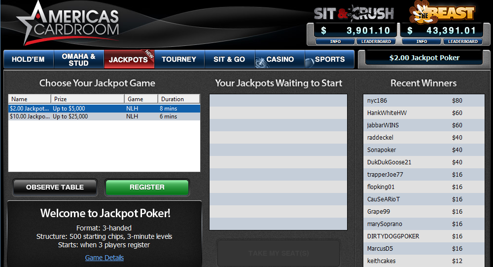 Acr jackpot poker scotty mckeithen poker