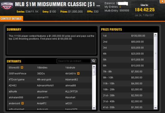 MLB $1 Midsummer Classic