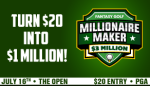 The Open win $1Million Dollars