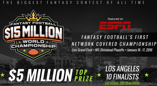 $15 Million Dollar Fantasy Football Championship