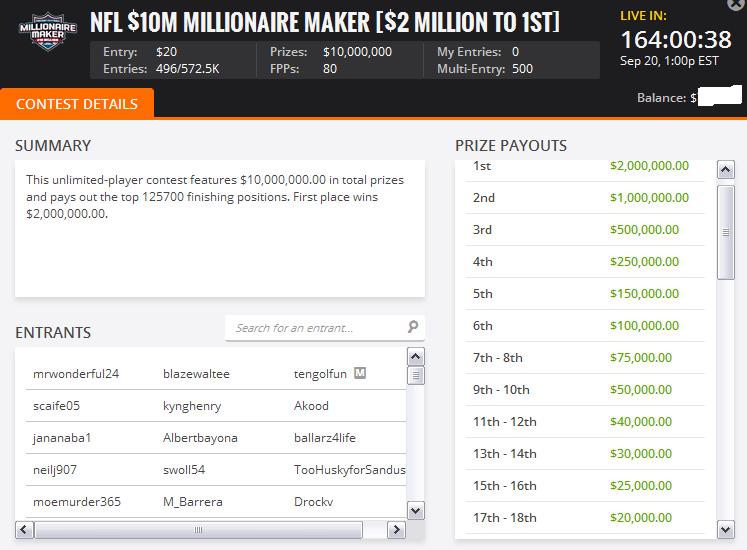 Millionaire Maker | Online Poker Update