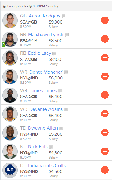 Primetime Line Up Suggestion