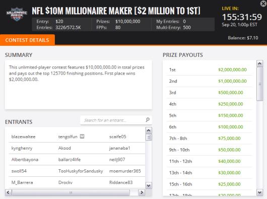 WK 2 Millionaire Maker