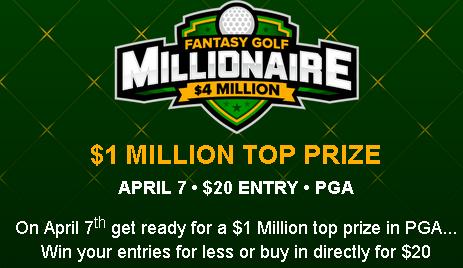 $4M PGA Fantasy Contest