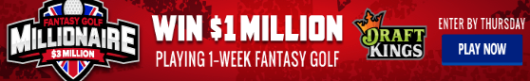 $3M Fantasy Golf Contest on DraftKings