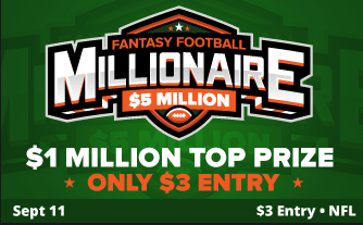 NFL Millionaire Maker The First of 2016