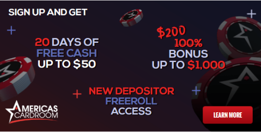 Check out Americas Cardroom today